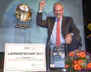 HTM Aerotec proud winner WTC Export Award